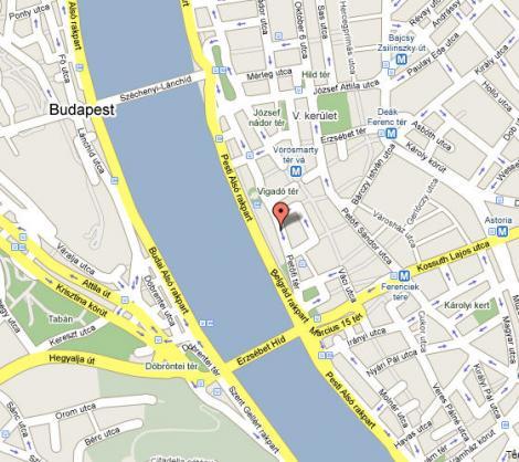 budapest 5 ker térkép Elérhetőség budapest 5 ker térkép